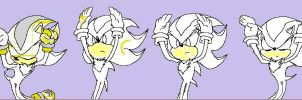 Sparx the Hedgehog Caramelldansen (20% complete) by FiretrontheHedgehog