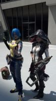 Captain Scarlett and Maya - Dragon*Con 2013 by Tarah-Rex