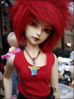 Faceup Comm - Isi 1 by koganemouche