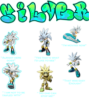 Silver The Hedgehog Tribute by Psychicstar