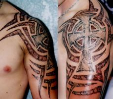 Broken Stone Tribal by AstroTatts