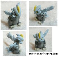 Kyurem Sculpture by Swadloon