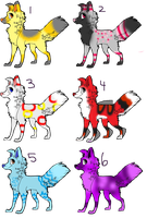 Dog Adoptables .:OPEN:. by ChibiDogTheCute