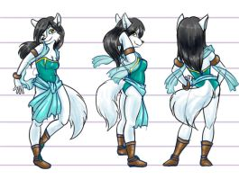 Aril's Model Sheet by Arilysal