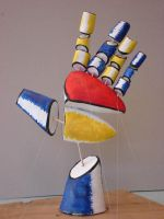 Cubist Hand by dead-skin-on-trial