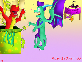 HAPPY BIRTHDAY HARMONIE by Fire-Flame-Fan