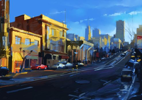 San Francisco by zhuzhu