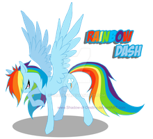 My little Pony - Rainbow Dash by Shadow-of-Destiny
