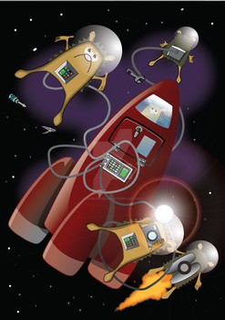 Space Hogz by JamesGarrod