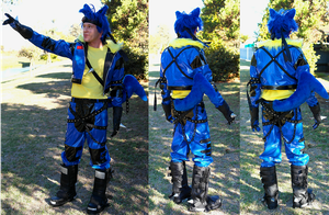 Lucario Cosplay by paul375