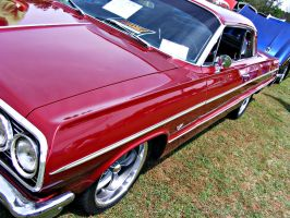Burgundy Impala 2 by JeremyC-Photography