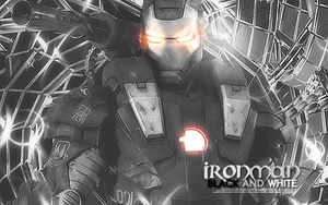 Iron Man Black and White by Isaac251