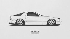 Mazda RX 7 FC by AeroDesign94