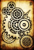 WRD: Nine of Cogs by TormentedArtifacts