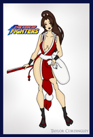 King of Fighters - Mai Shiranui by Femmes-Fatales