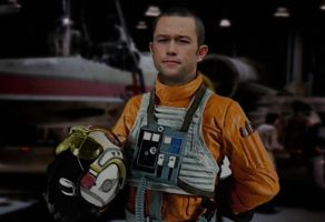 Joseph Gordon-Levitt as X-wing Pilot by hk-1440