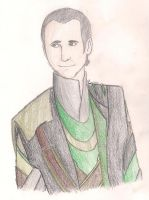 Loki with a Smile by TheBritishGeek