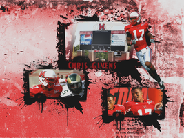 Chris Givens Wall by KevinsGraphics