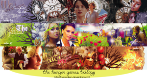The Hunger Games trilogy by byCreation