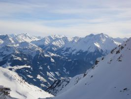 The Alps at Zillertal by Arminius1871