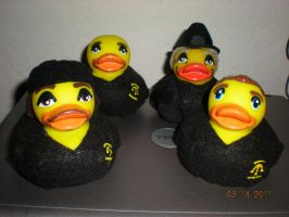 Pawn Star Rubber Ducks by Oriana-X-Myst