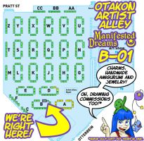 Manifested Dreams is Going to Otakon 2014! by aaronmizuno