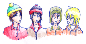 SOUTH PARK: The Guys by neomarie94