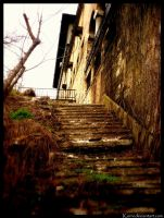 The Secret Stairs by Korni