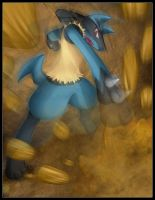 Pokemon: Lucario by CoolBlueX