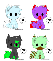 Chibi Dog adopts OPEN by AffectionateLurker