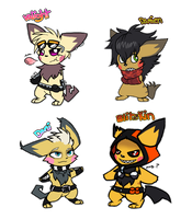 Pichu Adoptables CLOSED by RayFierying