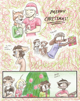 sChIzO 86: Merry Christmas by Mister-Saturn