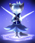 YCH Commission - Blue Magic Circle by Alora-Of-Hearts