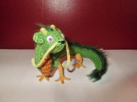 Earth Dragon -Daichi- Amigurumi by SilverTwilight05