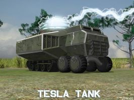 Soviet Tesla Tank Final by Aircraftkiller