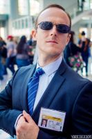 Agent Coulson of Shield, Wondercon 2014 by jwave001