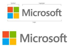 Microsoft new official  logo by Nickmix01