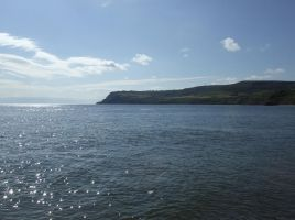 Sunny seascape, N. Yorkshire by delph-ambi