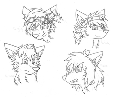 K9L Headshots Batch 2 by HermiTheHusky