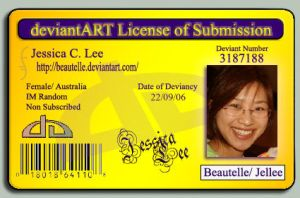 Deviant ID- License by Beautelle