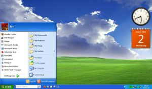 XP's StartMenu Tweaked by Drudger