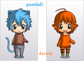 Gumball And Darwin by marponnamadness2