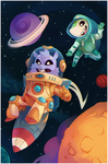 Commission: Ziggy the space hamster by salanchu