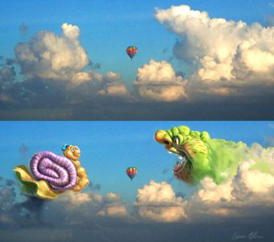 Cloud Creatures by ablaise