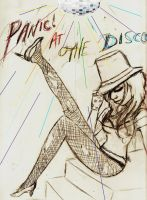 Panic at the Disco by mymagicaltutu