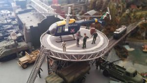 Bolkow Helicopter by Krulos
