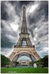 Paris - Eiffel Tower VIII by superjuju29