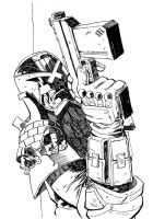 Judge Dredd Commission by pauljholden