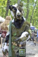 Forest Badger by Niennis