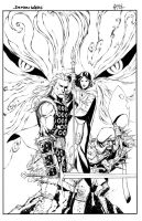 Demon Wars sample inks by JonathanGlapion